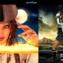 "View ""Mujeres Piratas del personaje Rigging"""