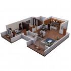 "View ""3D floor plan isometric view"""