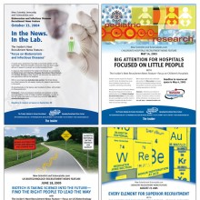 """View """"Ads for New Scientist Magazine"""""""