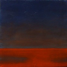 "View ""twp # 9 early hours,  acrylic on canvas,  6x6 inches,  2012"""